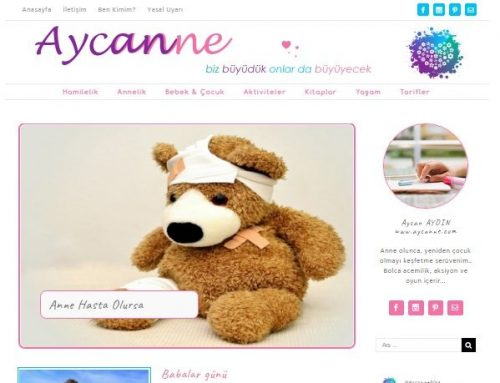 Aycanne.com yayında ve özel teşekkür